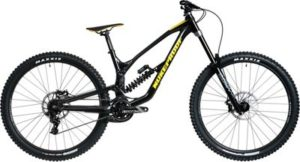 Nukeproof Dissent 290 Comp DH Bike (GX) 2020 - Black-Yellow