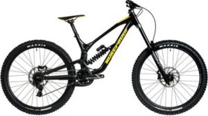 Nukeproof Dissent 275 Comp DH Bike (GX) 2020 - Black-Yellow - XL
