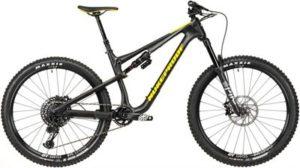Nukeproof Reactor 275 Pro Carbon Bike (GX Eagle) 2020 - Matt Black - Yellow