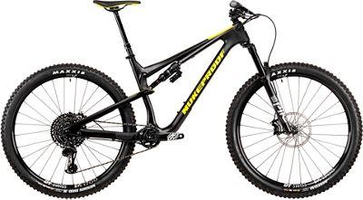 Nukeproof Reactor 290 Pro Carbon Bike (GX Eagle) 2020 - Matt Black - Yellow - XL