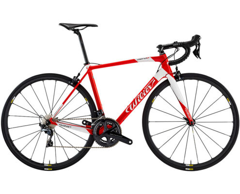 Wilier Zero 7 Ultegra Di2 Road Bike 2019 - Red-White - S