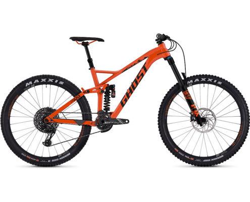 Ghost FR AMR 6.7 Full Suspension Bike 2019 - Monarch Orange-Night Black - XL