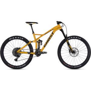 Ghost FR AMR 8.7 Full Suspension Bike 2019 - Spectra Yellow-Night Black