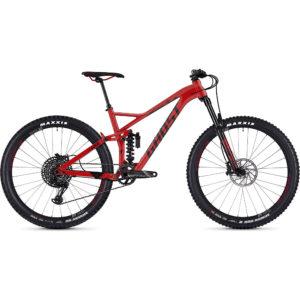 Ghost SL AMR 6.7 Full Suspension Bike 2019 - Night Black-Neon Red - XL
