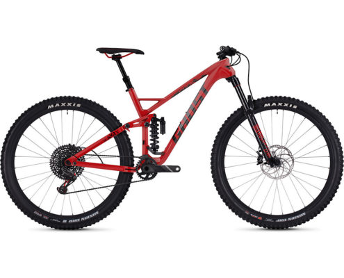 Ghost SL AMR X 7.9 Full Suspension Bike 2019 - Riot Red-Night Black