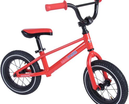 "Kiddimoto BMX Balance Bike  - Red - 12"""