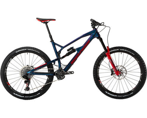 Nukeproof Mega 275 Carbon RS Bike XO1 Eagle 2019 - Blueberry - Red