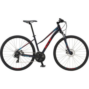 GT Transeo Comp Easy Entry Bike 2019 - Ink Blue