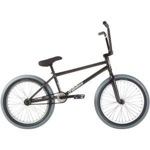 "Fit Long BMX Bike 2019 - Trans Black - 20.75"""
