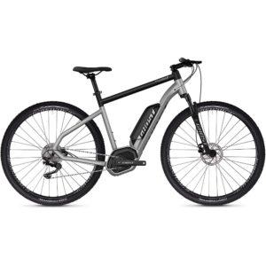 Ghost Square Cross B2.9 E-Bike 2019 - Iridium Silver - Jet Black