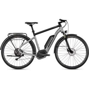 Ghost Square Trekking B2.8 E-Bike 2019 - Iridium Silver - Jet Black