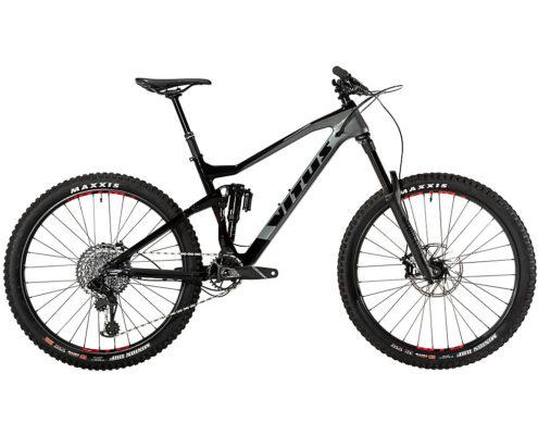 Vitus Sommet CRS Mountain Bike (GX Eagle) 2019 - Black - Grey