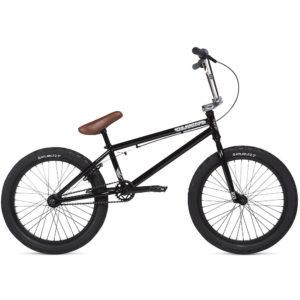 """Stolen Casino BMX Bike 2020 - Black-Chrome - 20.25"""""""