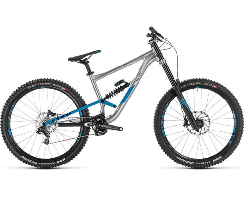 "Cube Hanzz 190 SL 27.5 Suspension Bike 2019 - Metal - Petrol - 46cm (18"")"