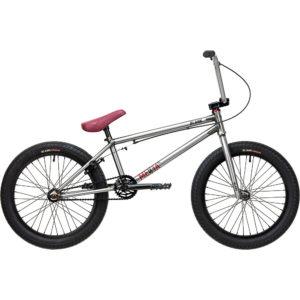 "Blank Media XL 20"" BMX Bike 2020 - Silver - 21"" TT"