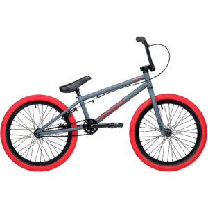 "Blank Tyro Jr 20"" BMX Bike 2020 - Matte Charcoal - 18.5"" TT"