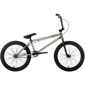 "Ruption Motion 20"" BMX Bike 2020 - Silver - 20.75"" TT"