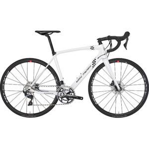 Eddy Merckx Lavaredo68 Ultegra Mix Disc Road Bike 2019 - Peugeot White - Black