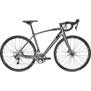 Eddy Merckx Wallers73 Ultegra Disc Road Bike 2019 - Anthracite - Black