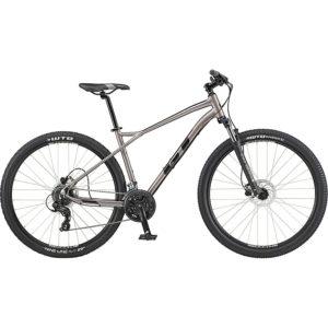 GT Aggressor Expert Bike 2020 - Silver - Black - M