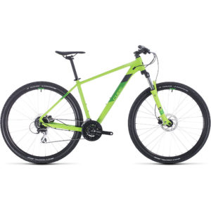 "Cube Aim Pro 27.5 Hardtail Mountain Bike 2020 - Green - Iridium - 40.5cm (16"")"