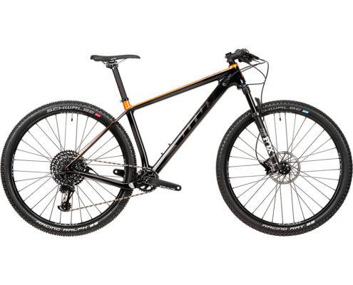 Vitus Rapide CRS Bike (NX Eagle 1x12) 2020 - Carbon - Fire