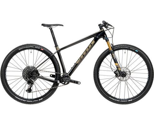 Vitus Rapide CRX Bike (GX Eagle 1x12) 2020 - Carbon - Midnight Sand