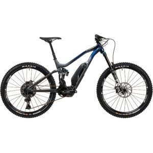 Vitus E-Sommet VR E-Bike (SX Eagle 1x12) 2020 - Black - Blurple - XL