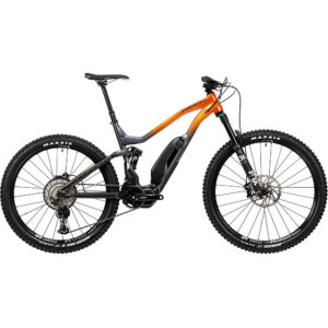 Vitus E-Escarpe VRS E-Bike (XT 1x12) 2020 - Graphite - Fire - M