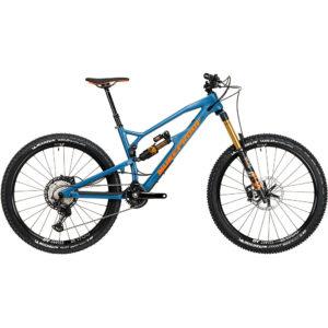Nukeproof Mega 275 Factory Carbon Bike (XT) 2020 - Bottle Blue