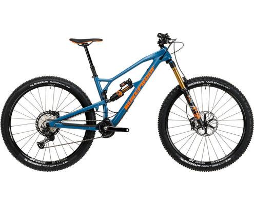Nukeproof Mega 290 Factory Carbon Bike (XT) 2020 - Bottle Blue - XL