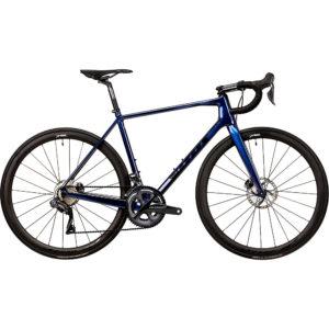 Vitus Vitesse EVO CRS Di2 Road Bike (Ultegra) 2020 - Blue Chameleon - XS