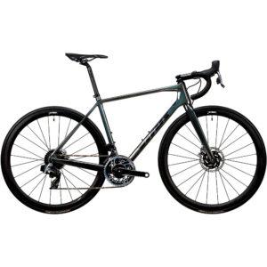 Vitus Vitesse EVO CRX eTap Road Bike (Red) 2020 - Black Chameleon - XXS