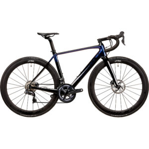 Vitus ZX1 CRS Di2 Road Bike (Ultegra) 2020 - Carbon-Blue Chameleon - XL