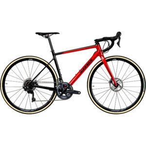 Vitus Zenium CRS Road Bike (Ultegra) 2020 - Red-Carbon - XL