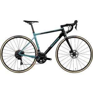 Vitus Zenium CR Road Bike (105) 2020 - Carbon-Teal - XL