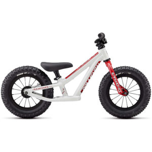 Commencal Ramones 12 Push Bike 2020 - White - Red - 12""