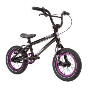 "Fit Misfit 12"" BMX Bike 2020 - ED Black-Purple - 13.25"""