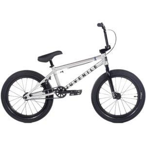 "Cult Juvenile 18"" BMX Bike 2020 - Silver - Black"