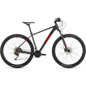 "Cube Aim SL 27.5 Hardtail Bike 2020 - Iridium - Red - 14"""