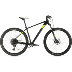 Cube Analog 27.5 Hardtail Bike 2020 - Black - Flashyellow - 14""
