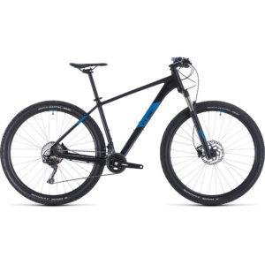 "Cube Attention SL 29 Hardtail Bike 2020 - Black - Blue - 43.5cm (17"")"