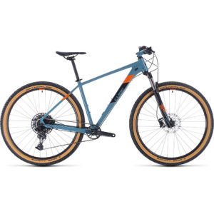 "Cube Acid 29 Hardtail Bike 2020 - Bluegrey - Orange - 21"""