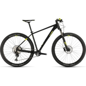 "Cube Reaction Pro 29 Hardtail Bike 2020 - Black - Flashyellow - 43.5cm (17"")"