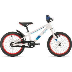 "Cube Cubie 160 Kids Bike 2020 - White - Blue - 16"""