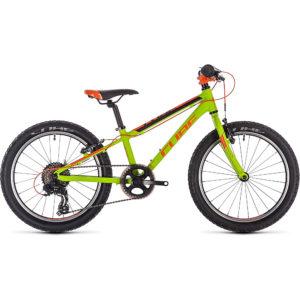 "Cube Acid 200 Kids Bike 2020 - Kiwi - Black - Orange - 20"""