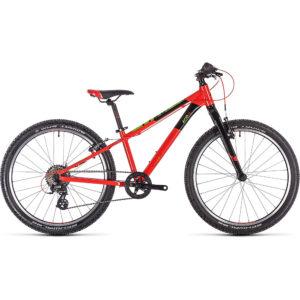 "Cube Acid 240 SL Kids Bike 2020 - Red - Green - Black - 24"""