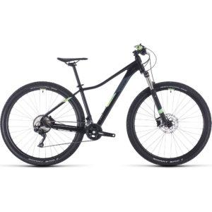 "Cube Access WS Race 27.5 Womens Hardtail Bike 2020 - Black - Green - 16.25"""