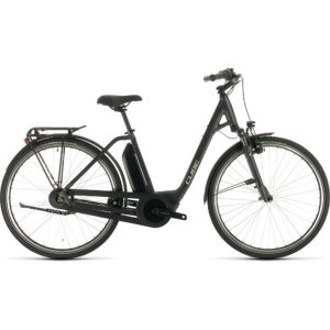 "Cube Town Hybrid One 400 E-Bike 2020 - Iridium - Black - 50cm (19.5"")"