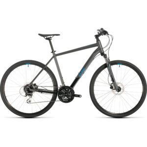 "Cube Nature Urban Bike 2020 - Iridium - Blue - 54cm (21"")"
